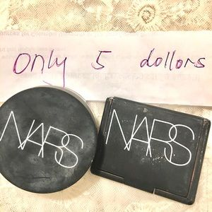 NARS Setting Powder + Deep Throat Blush